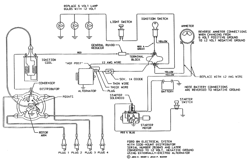 wiring diagram 4 cylinder tractor electrical schematic wiring diagram 8n ford tractor wiring besides 1994 chevy s10 4 3 firing order besides