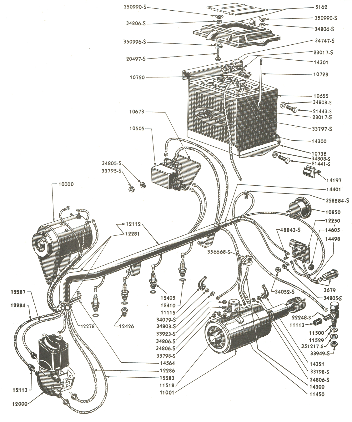 ford wiring parts wiring diagram databaseford parts wiring
