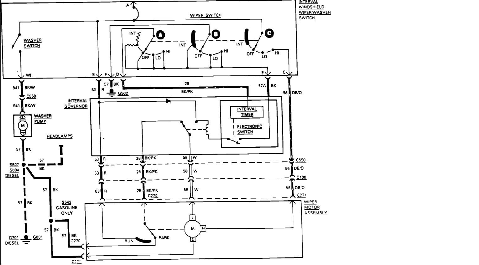 wiring diagram for 6 4 ford wipers wiring diagram operations ford f 450 wiper wiring diagram