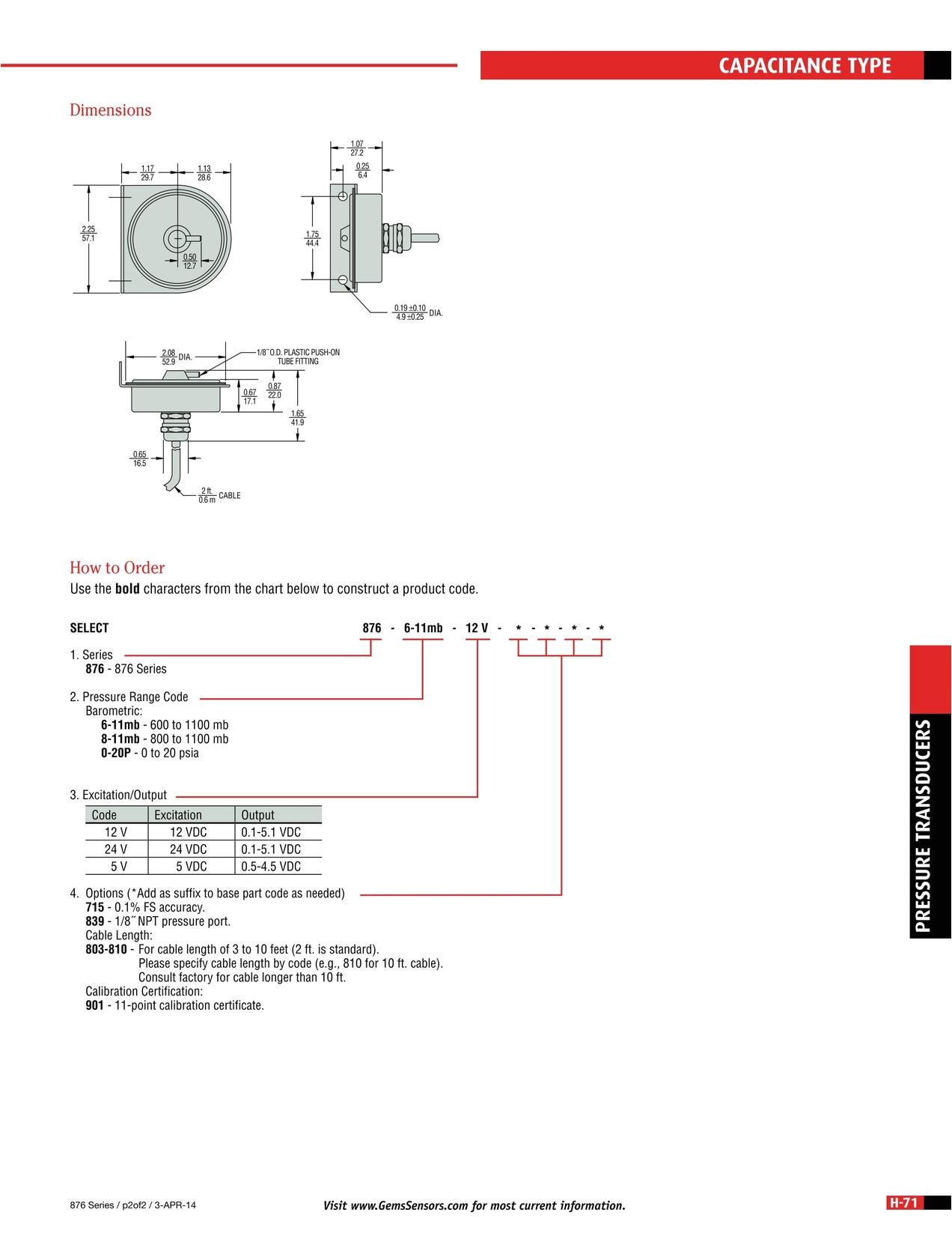 master catalog gems sensors controls h 71