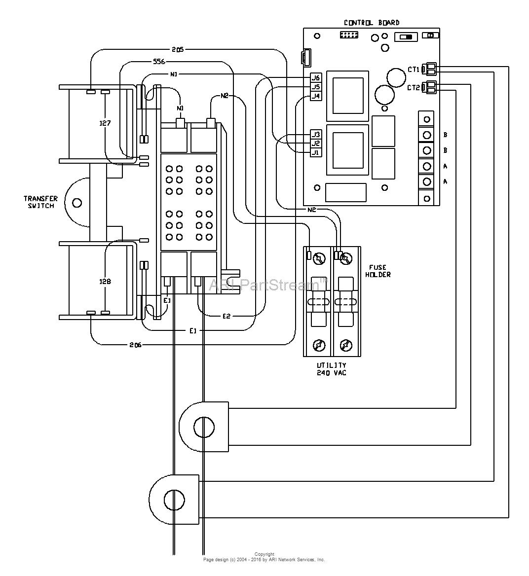 wrg 8765 transfer switch wiring schematic generac wiring diagram model 4969