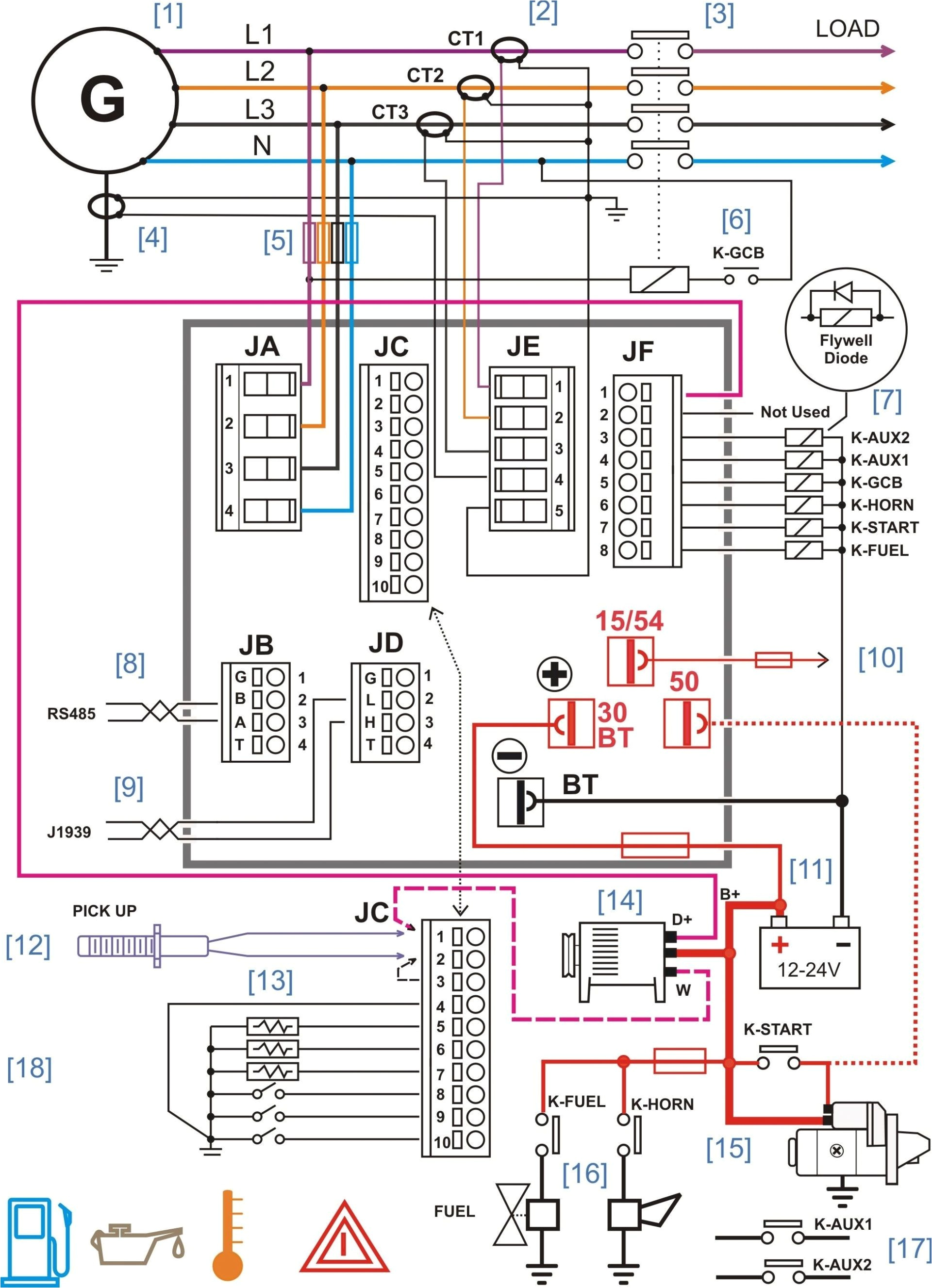 rv distribution panel wiring diagram a board valid for new electrical 14n with marine generator