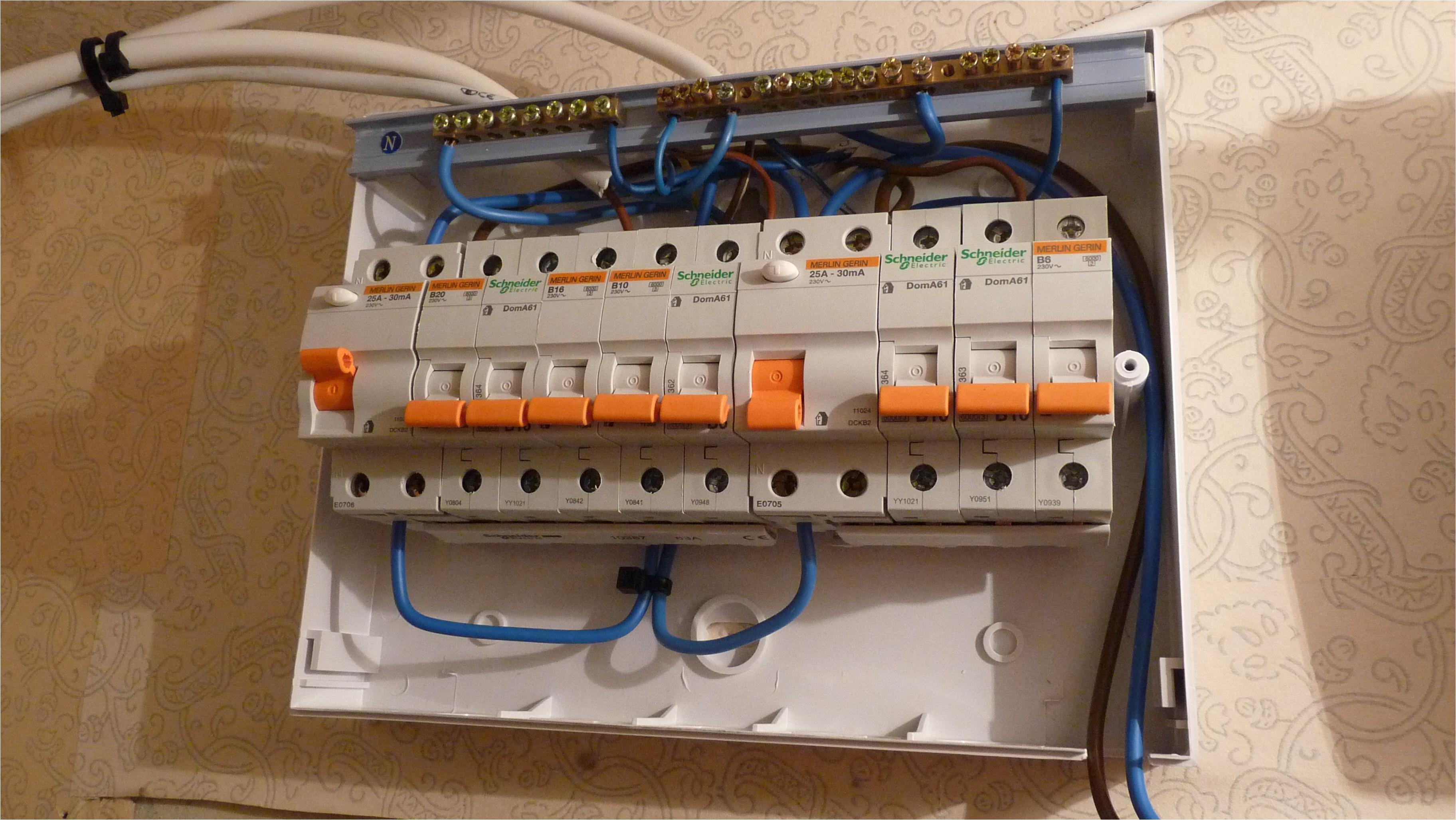 electrical consumer unit wiring diagram unique fuse box in garage wiring diagram garage rcd unit