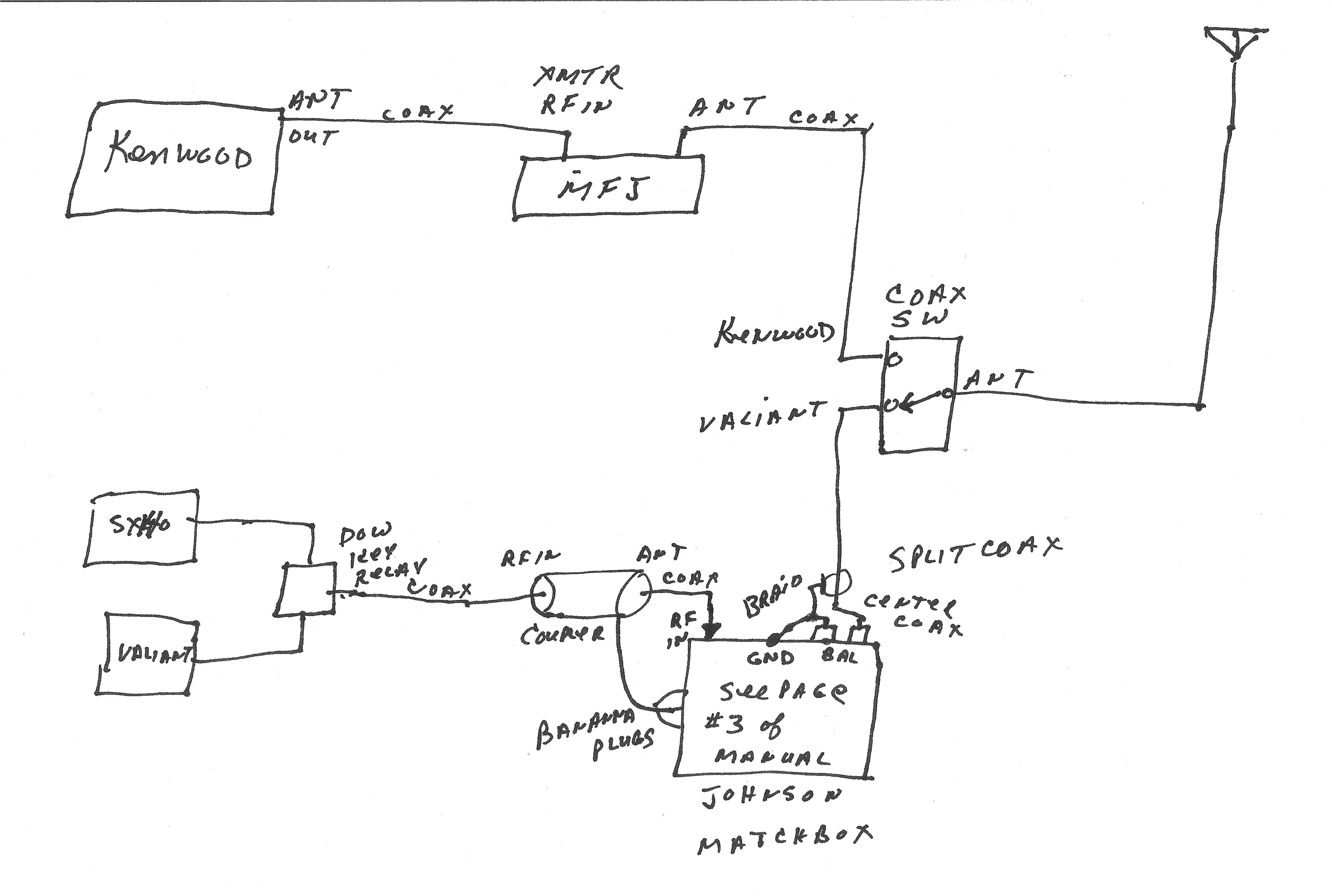 radio shack headphone wire diagram
