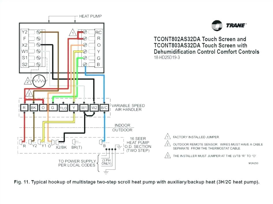 trane gas furnace wiring diagram jpg