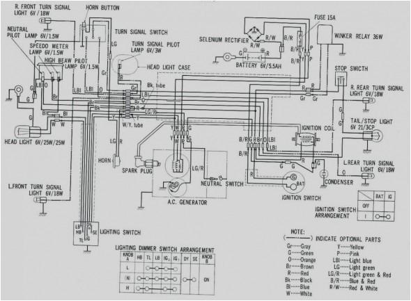 honda chf50 wiring diagram