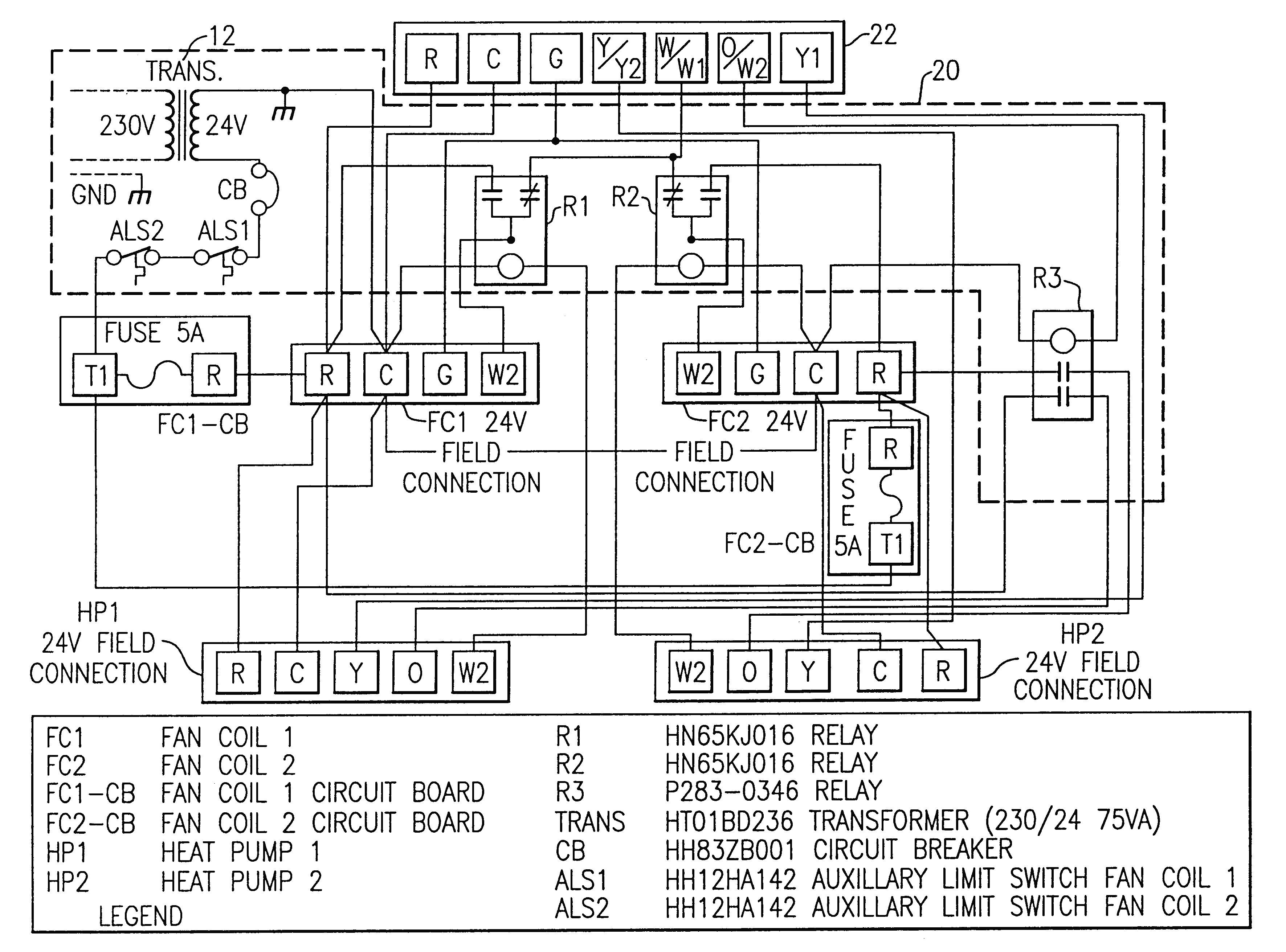 goodman heat pump package unit wiring diagram gallery