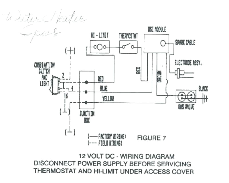 Hot Water Heater thermostat Wiring Diagram Dometic Furnace Wiring Wiring Diagrams for