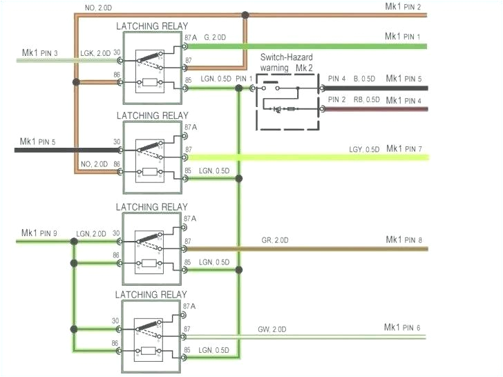How to Wire Trailer Lights 4 Way Diagram 6 Pin Transformer Electrical Wiring Diagram software Mini Din Luxury