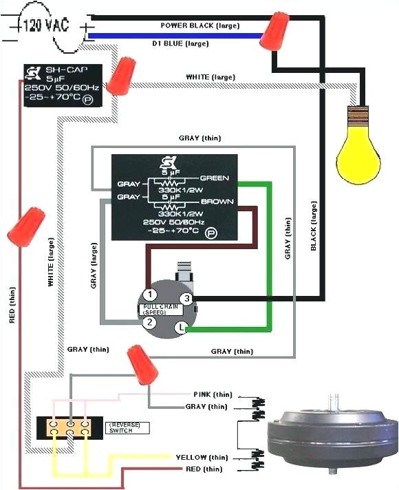 Hunter Fan Wiring Diagram Hunter 27183 Wiring Diagram Data Schematic Diagram
