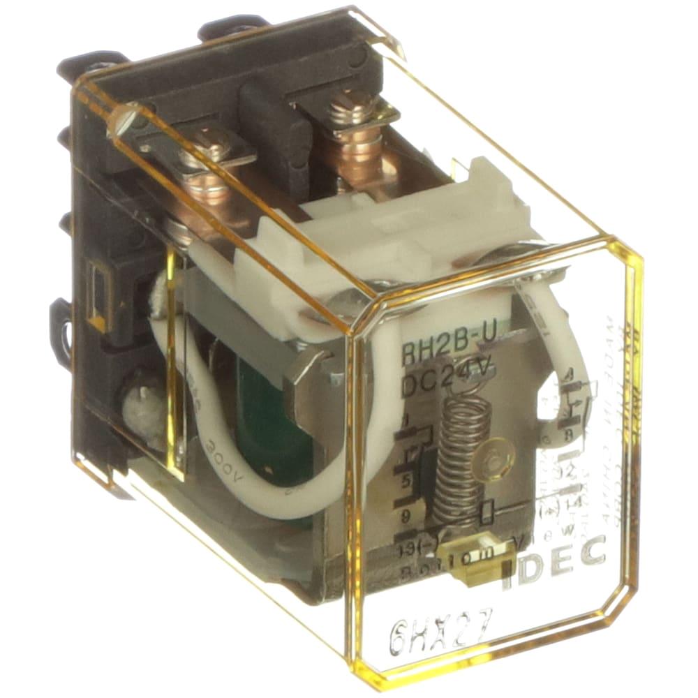 idec corporation rh2b udc24v relay e mech gen purp