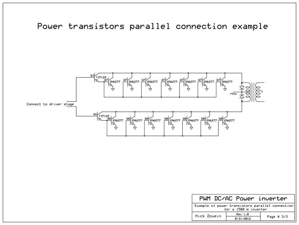 12v to 220v inverter circuit diagram pdf