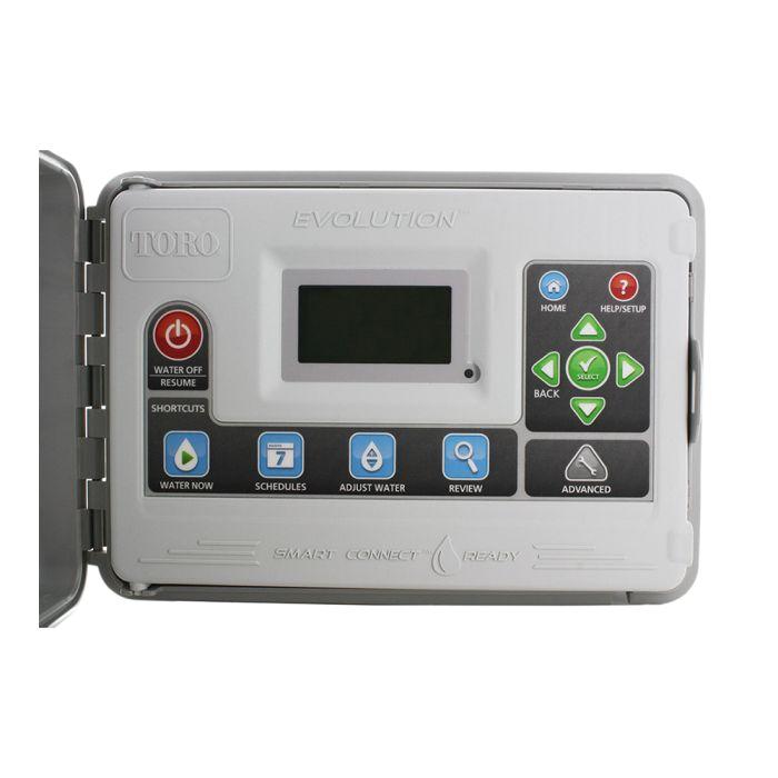 toro 4 station indoor outdoor plastic ac powered controller evo 4od