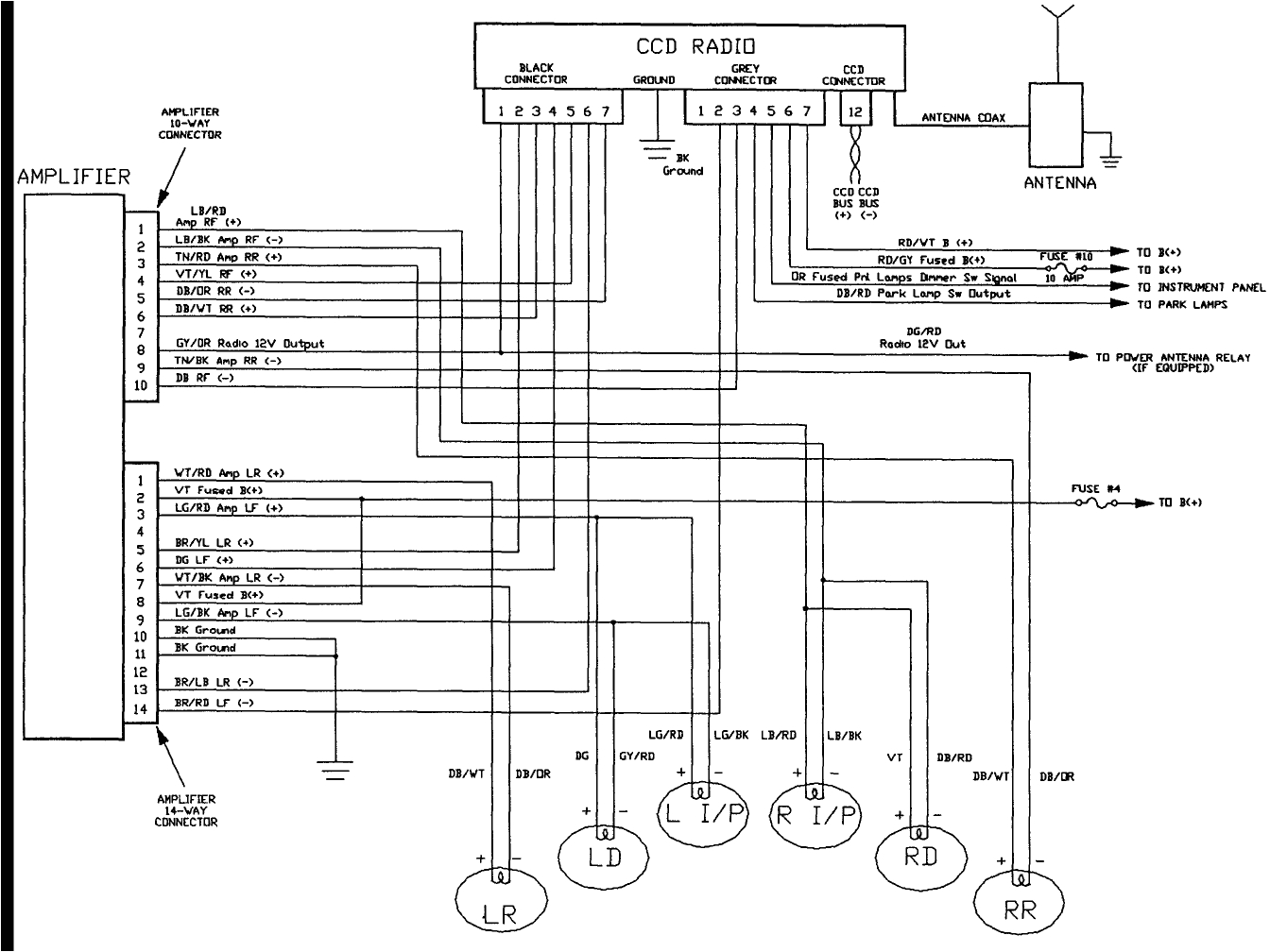 1994 jeep cherokee electrical diagram wiring diagram files mix 1994 jeep cherokee se 40l system wiring
