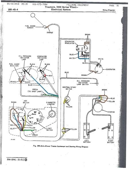 john deere 4010 wiring diagramjd 4010 wiring diagram 1