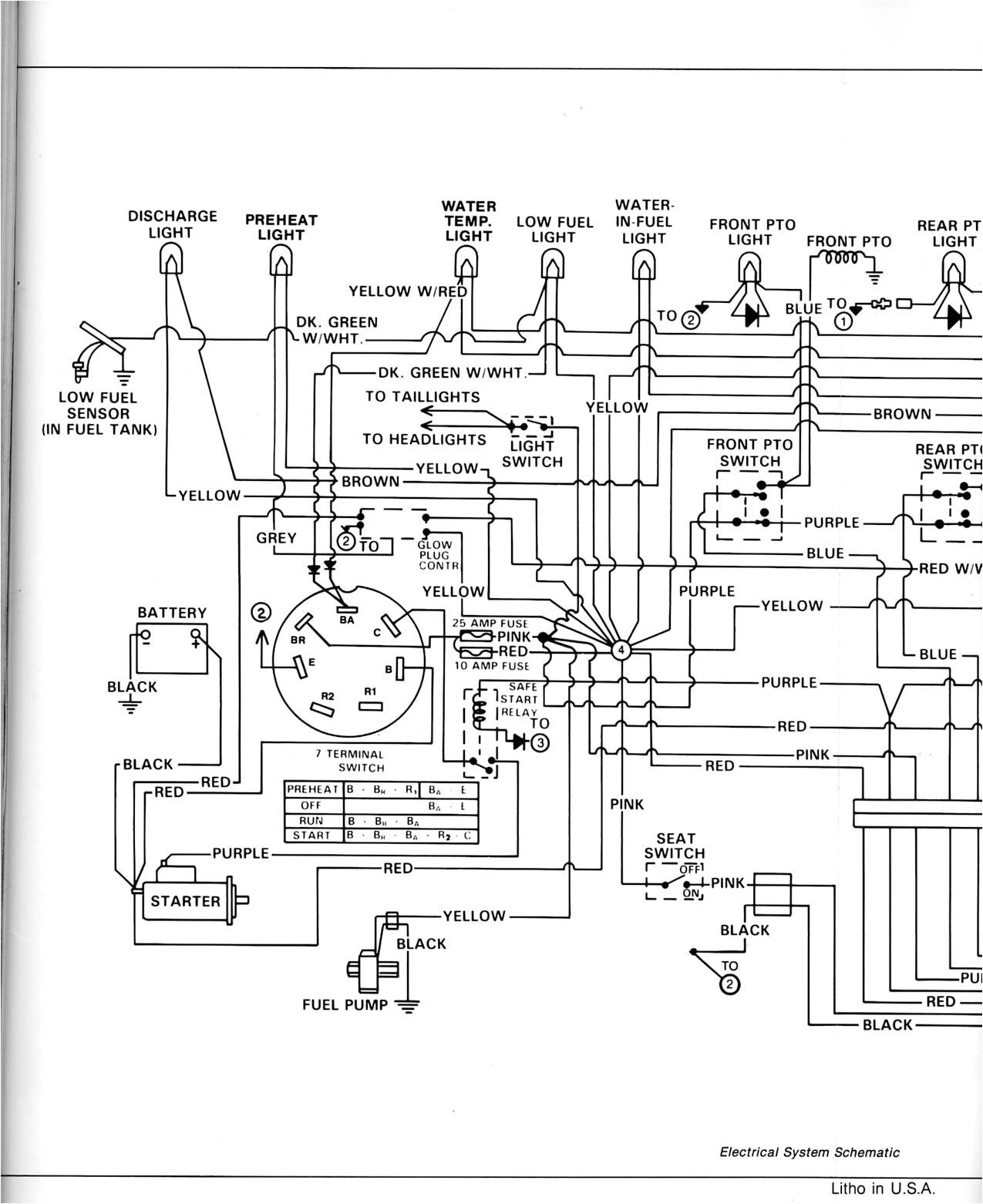 case excavator wiring diagrams wiring library430 elec3 jpg jd 430 lawn u0026amp garden tractor