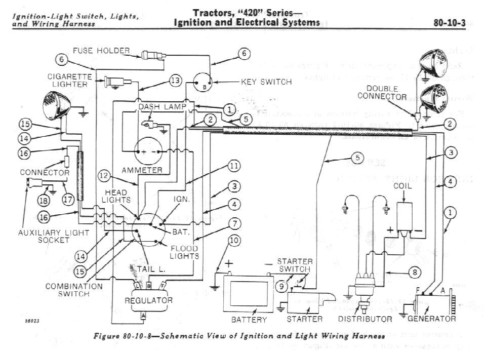 john deere 420 wiring diagram blog wiring diagram for 420 garden tractor wiring