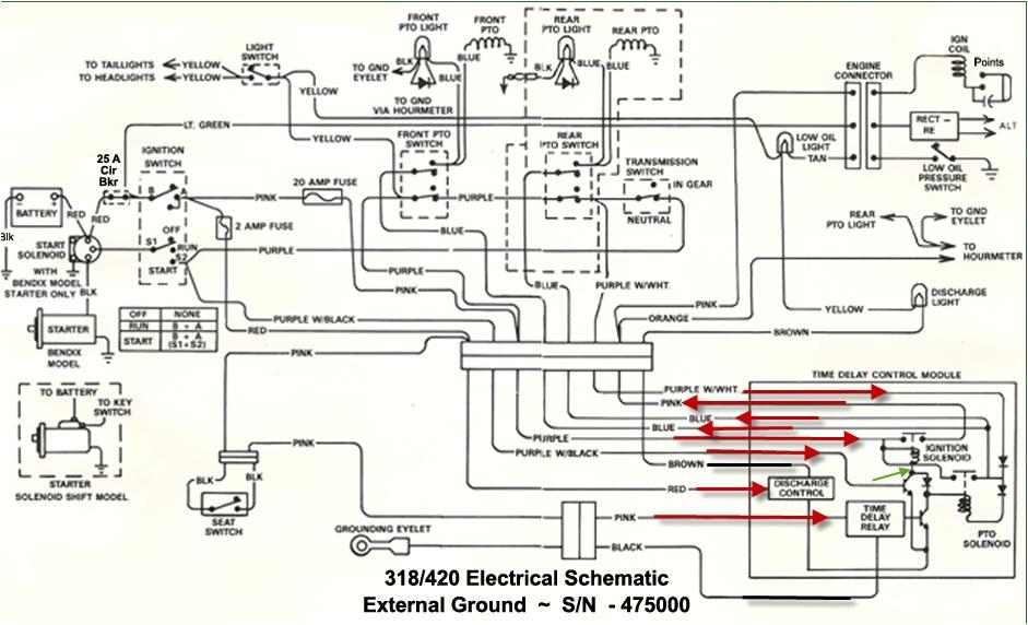 john deere d130 electrical diagrams wiring diagrams