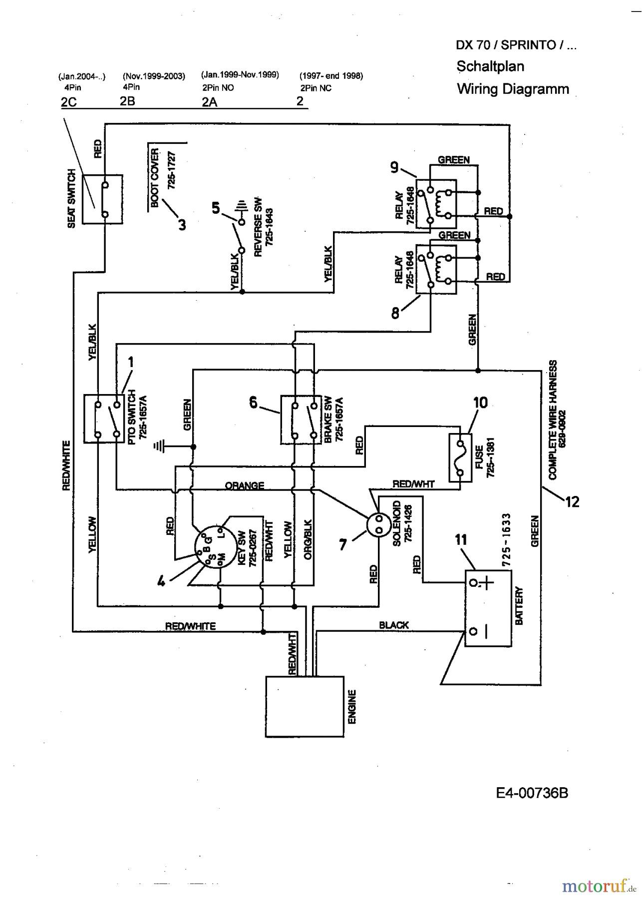 mtd 13cd609g063 wiring diagram wiring diagram mtd ignition switch wiring diagram png