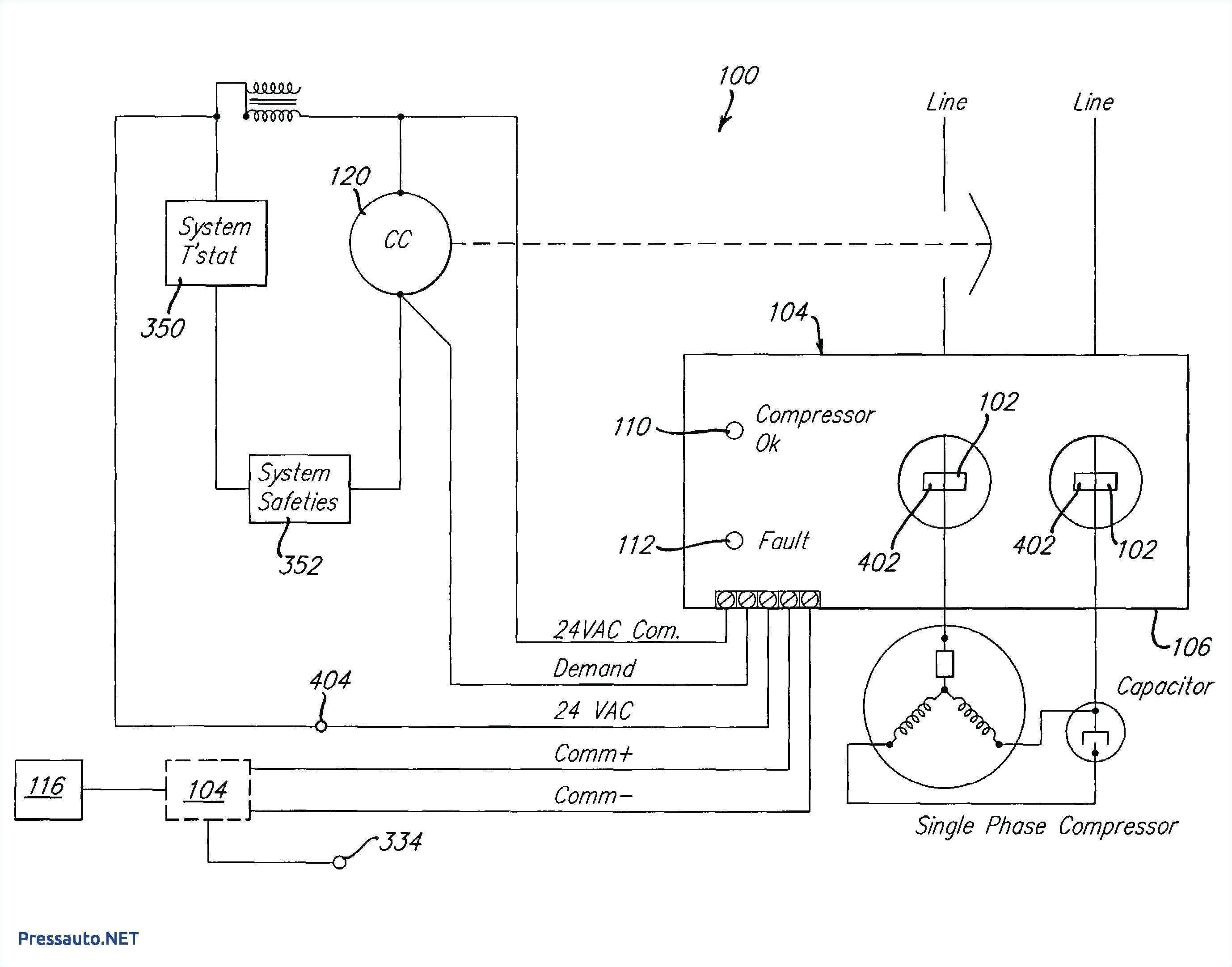 copeland single phase compressor wiring diagram best of copeland pressor cross reference chart unique part winding start jpg