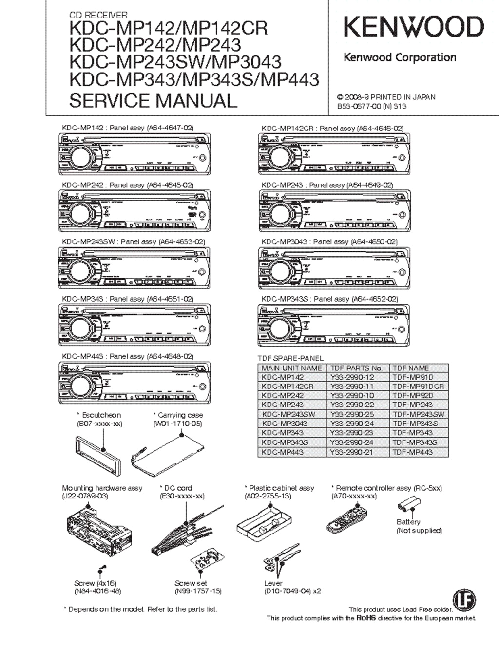 [DIAGRAM_4FR]  Kenwood Kdc 252u Wiring Diagram - Wiring Diagrams All | Kenwood Kdc Bt555u Wiring Diagram Cd Reciver Model |  | elaariela.de