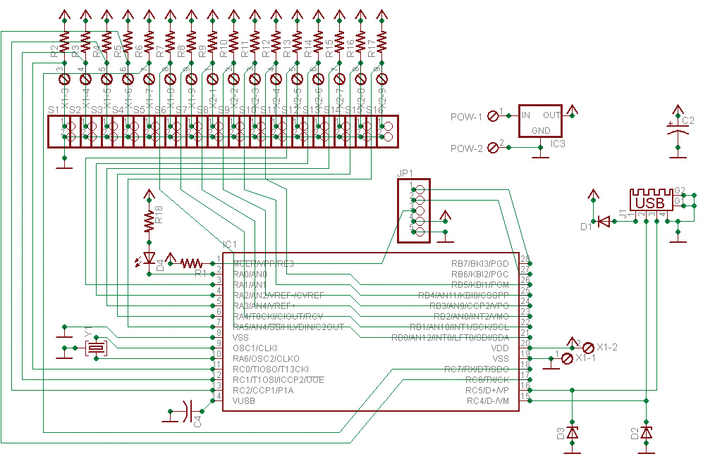 Keyboard Wiring Diagram Usb Light Keyboard Wiring Diagram Wiring Diagram Database Blog