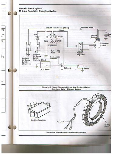 third party image some kohler engines used a rectifier