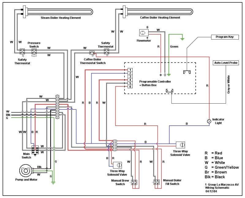 how to connect pressurestat thru ssr to reduce load la marzocco linea wiring diagram
