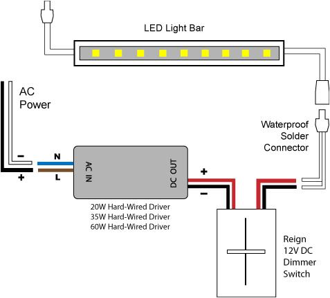 88light reign 12v led dimmer switch wiring diagrams mix led dimmer wiring diagram 7