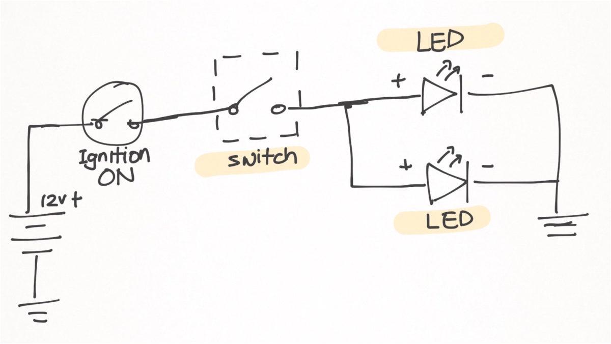 led fog lights install on my pulsar 200ns