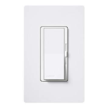 lutron dvfsq f wh diva 1 5 a 3 way single pole 3 speed fan control white ceiling fan wall controls amazon com