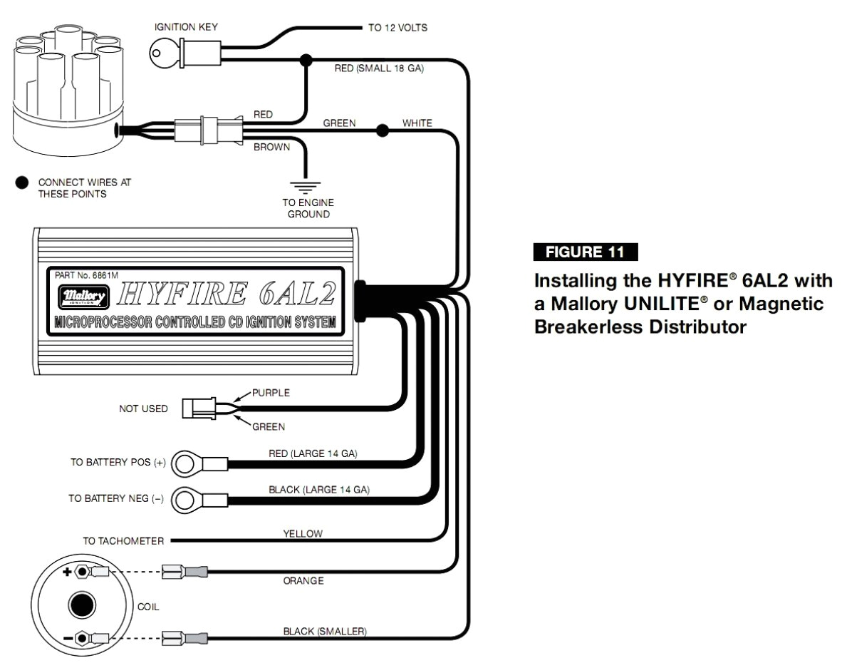 Mallory Ignition Wiring Diagram Mallory Mag O Wiring Diagram Wiring Diagram Secrets