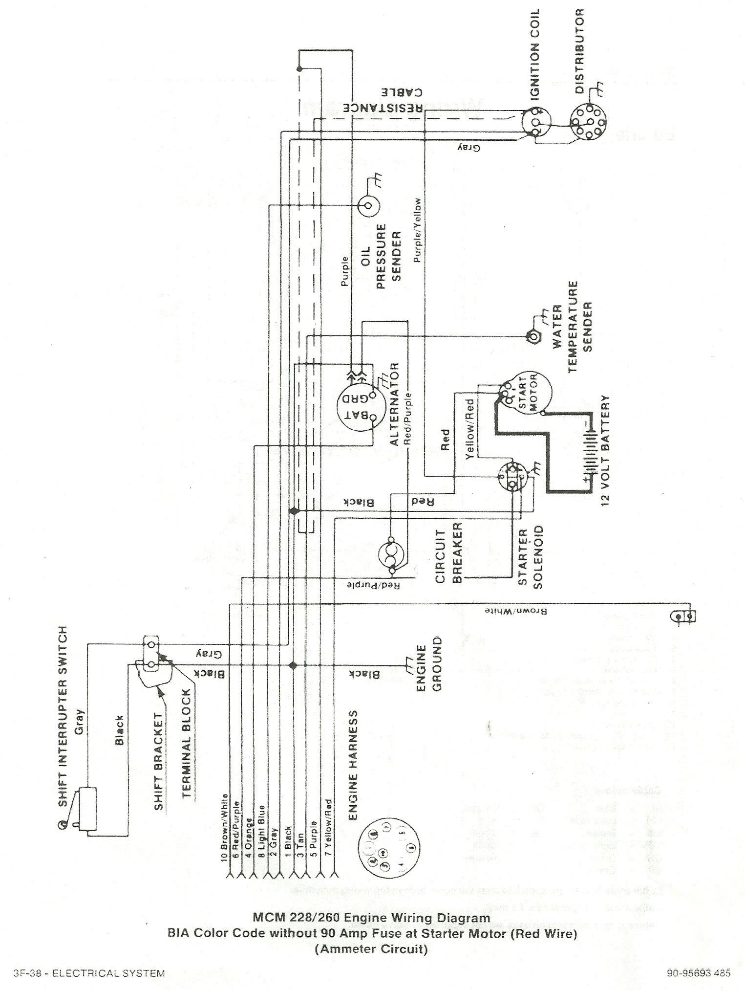 4 3 mercruiser wiring diagram color code wiring diagrams structure 4 3 mercruiser wiring diagram color code