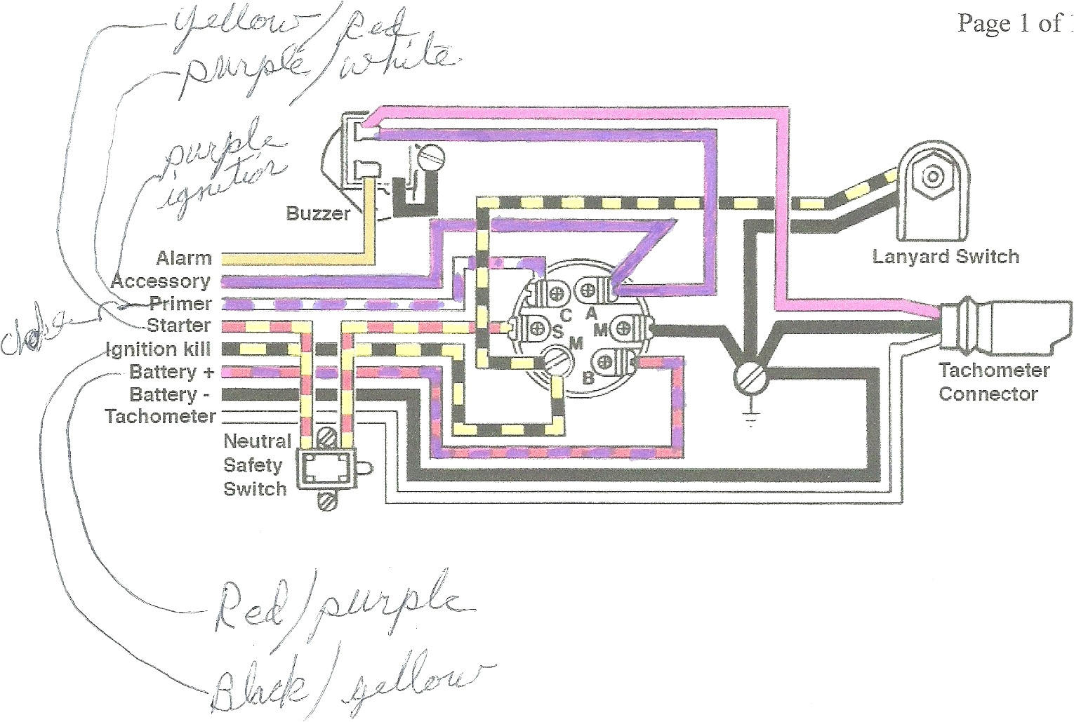mercury outboard wiring diagram ignition switch free wiring diagram mercury outboard wiring diagram ignition switch