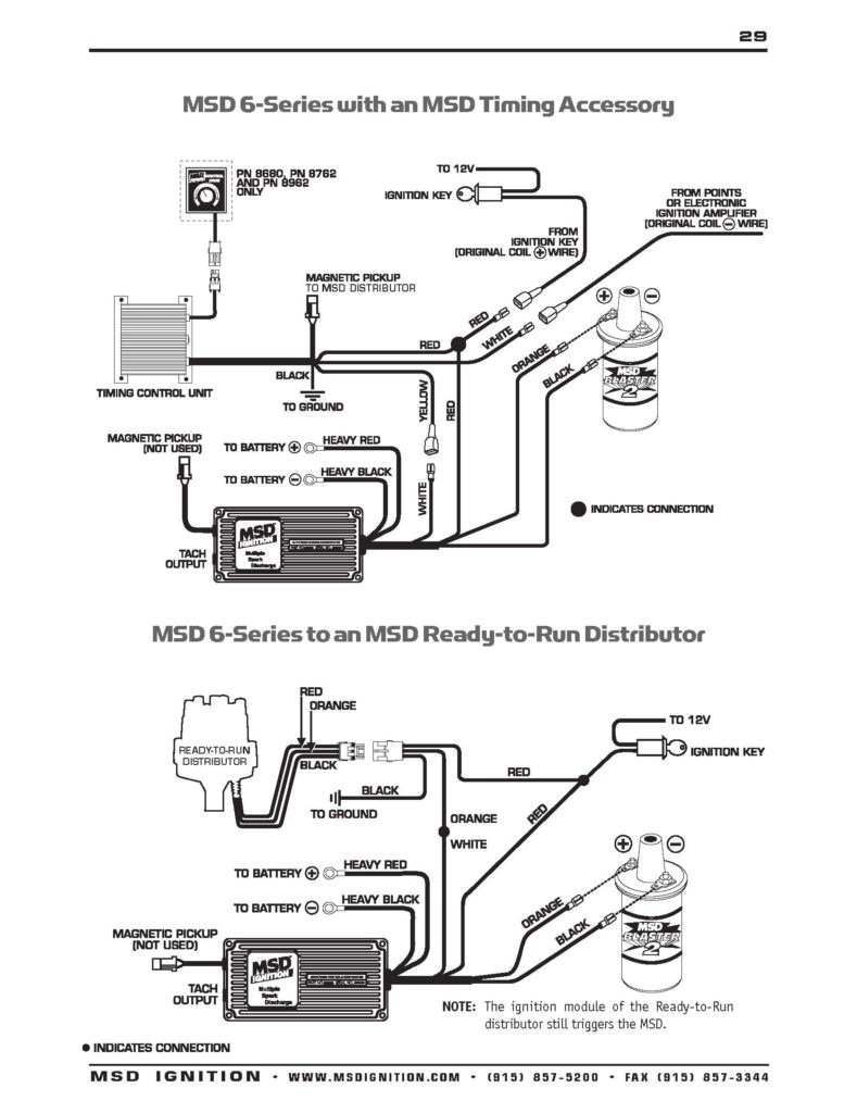 msd ignition distributor wiring diagram chevy msd 6al hei wiring diagram chevy