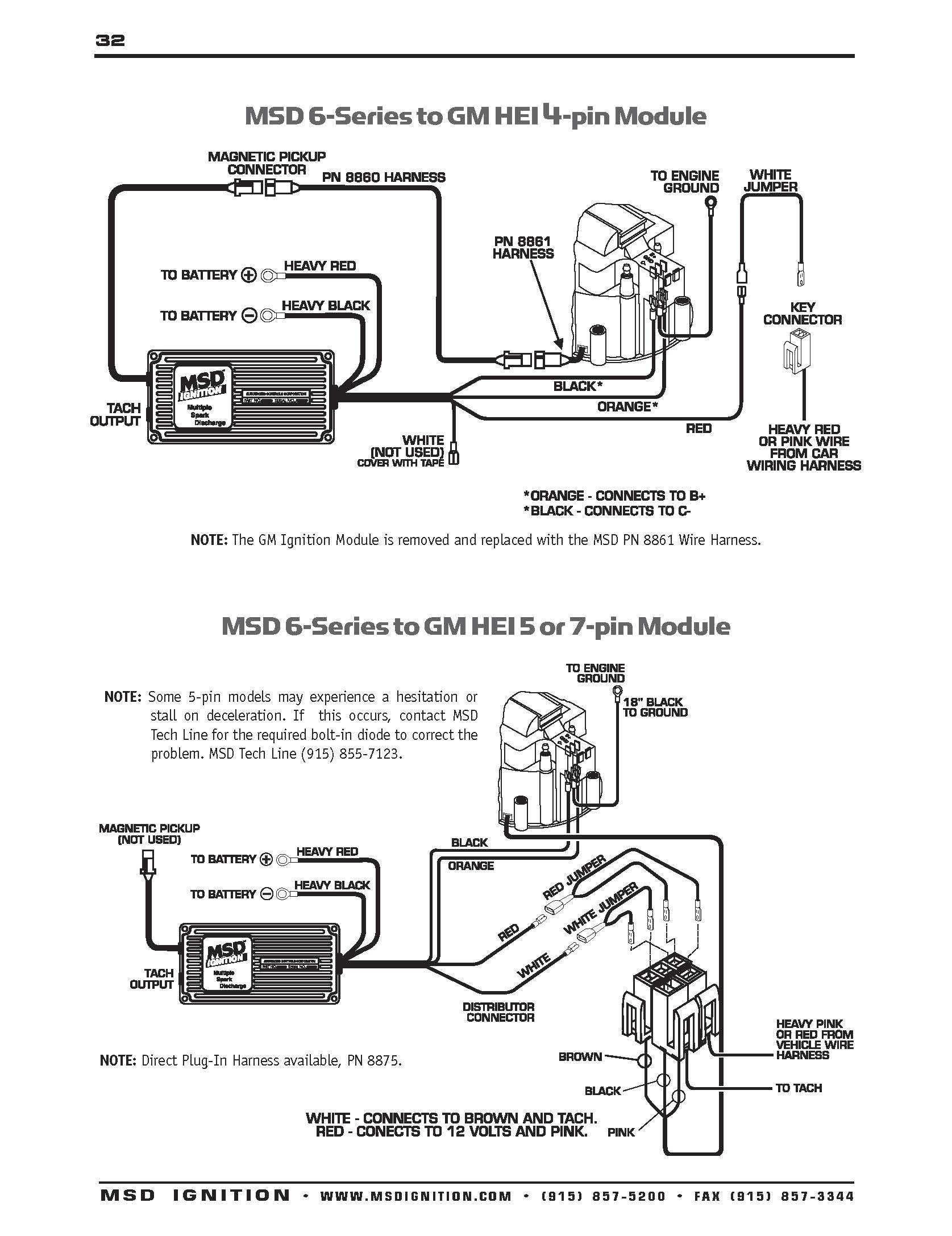 6al wiring diagram wiring diagram msd 6al tach wiring