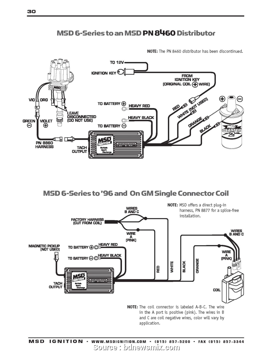 msd wiring diagram wiring diagram operations msd 6al wiring chevrolet