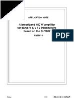 transmisor tv 150watt
