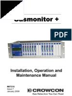 manual gasmonitor engleza