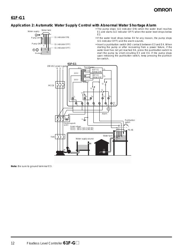 omron 61f g ap wiring diagram new 61f floatless level controller datasheet