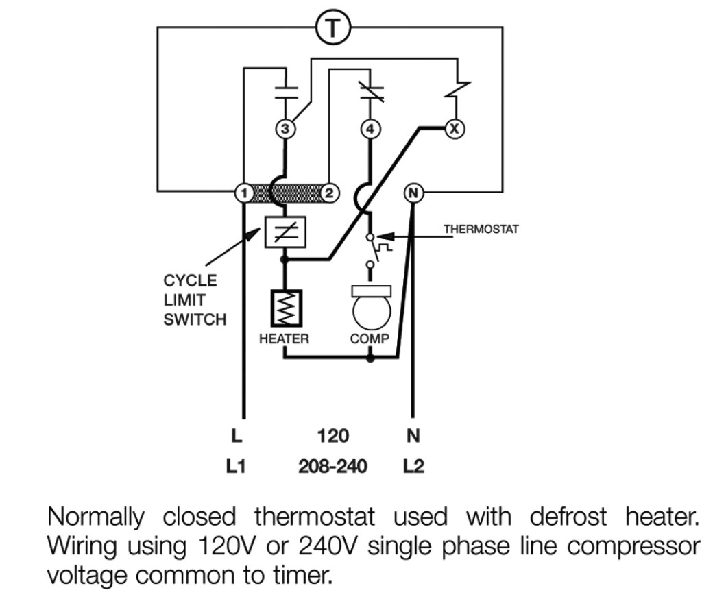 paragon 8145 20 wiring diagram fresh defrost clock wiring diagram and freezer timer to paragon 8145