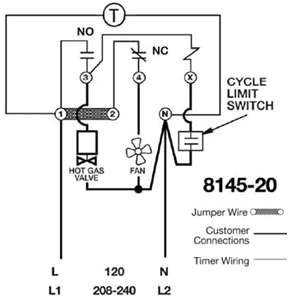 Paragon 8145 00 Wiring Diagram solved where Do I Wire the 4 Terminal In the Contactor Fixya