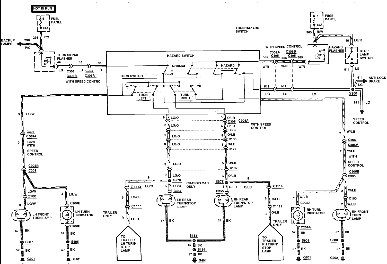 brakecircuit on ford f350 trailer wiring diagram within