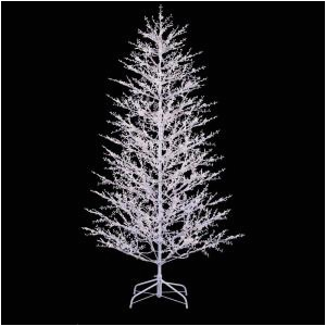 white winterberry branch tree with led lights