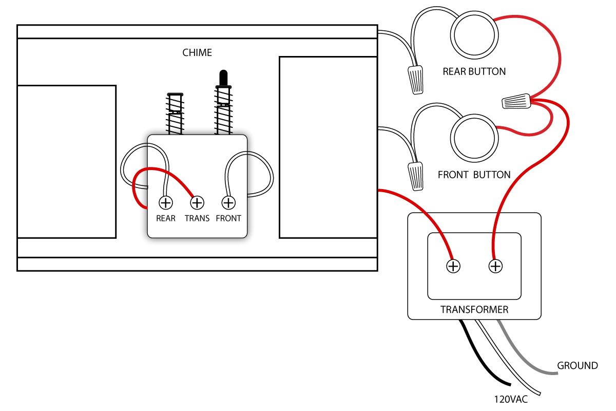 Ring Doorbell Wiring Diagram Wiring Facts Door Chimes Book Diagram Schema