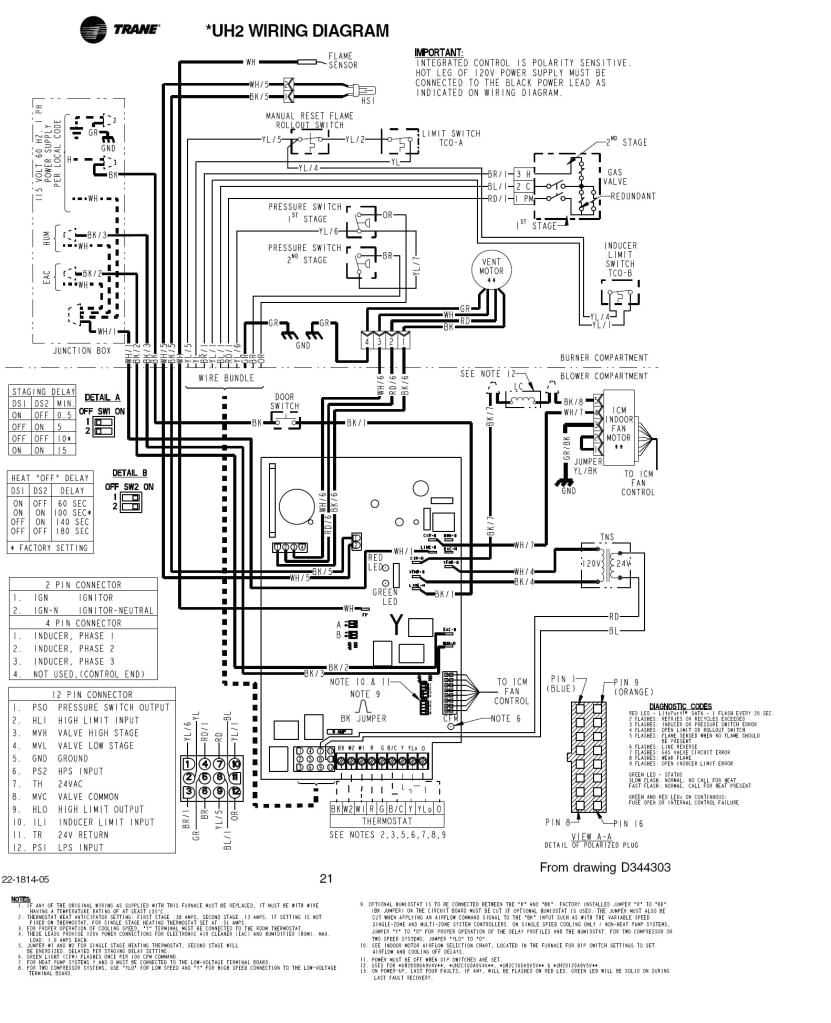 Rly02807 Wiring Diagram Trane Twe036c140a1 Wiring Diagrams Wiring Diagrams Structure