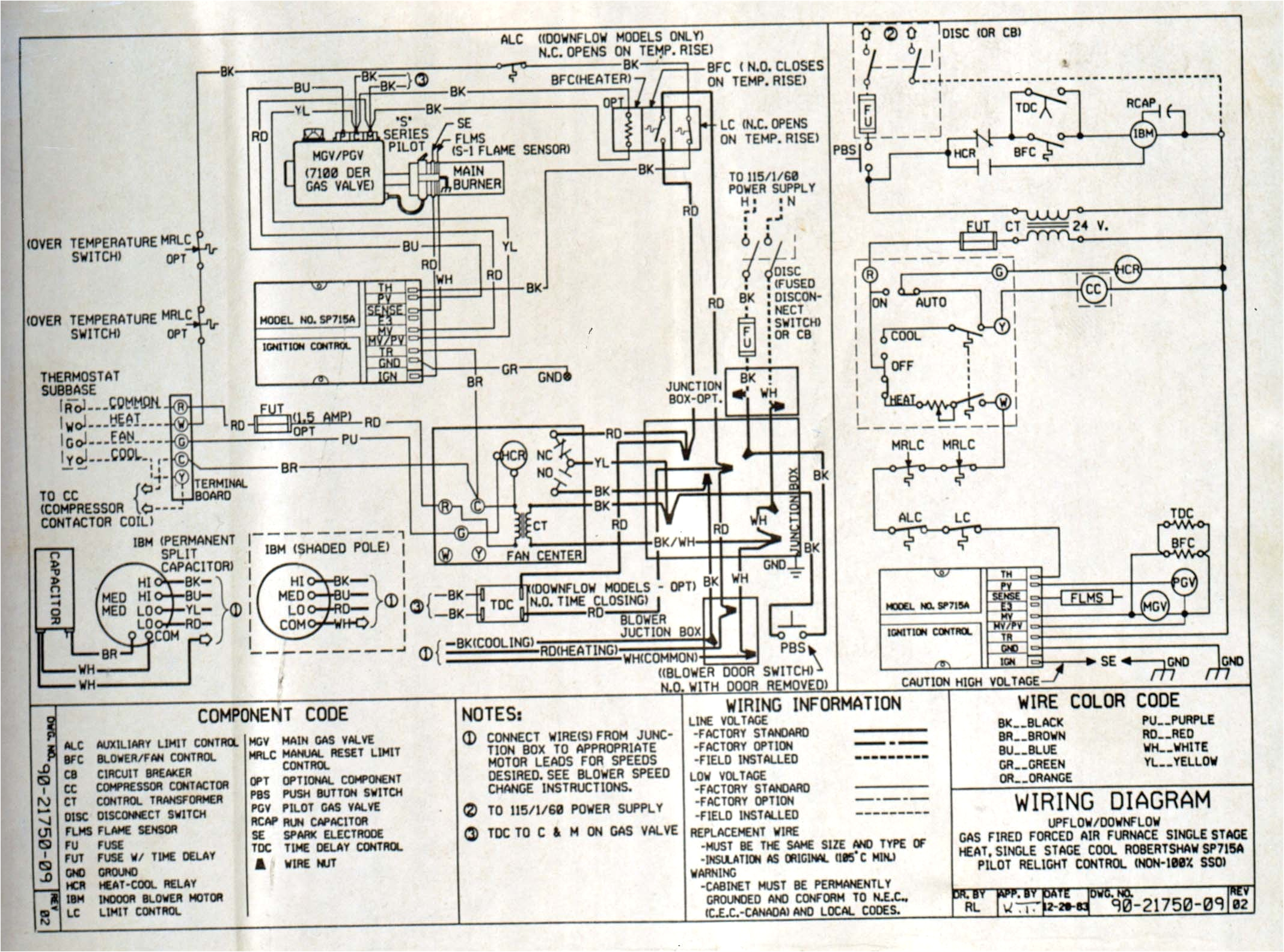 honeywell s8610u wiring diagram gm ignition switch best electronic furnace example electrical of png