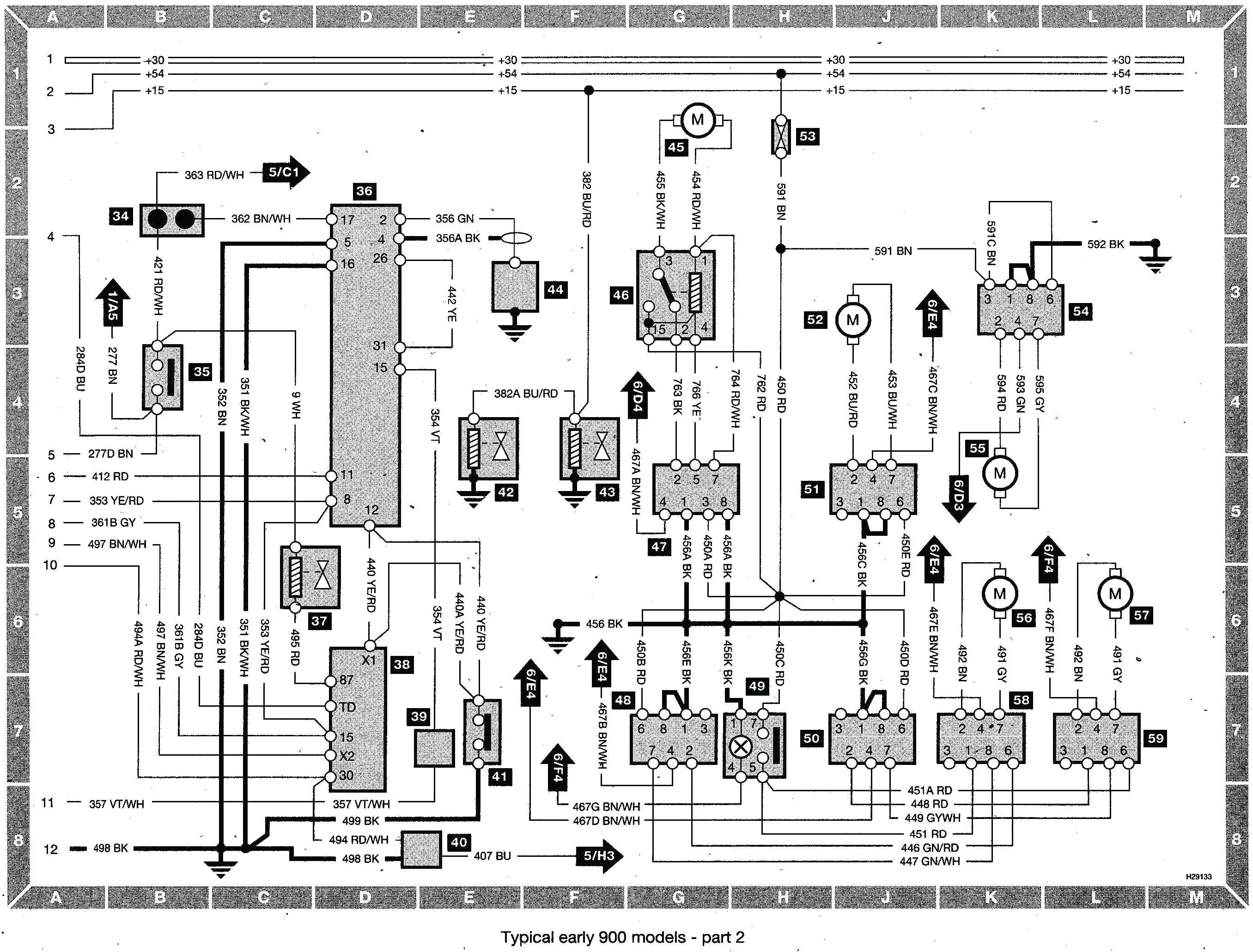 1989 saab wiring harness wiring diagram page saab 900 wiring harness
