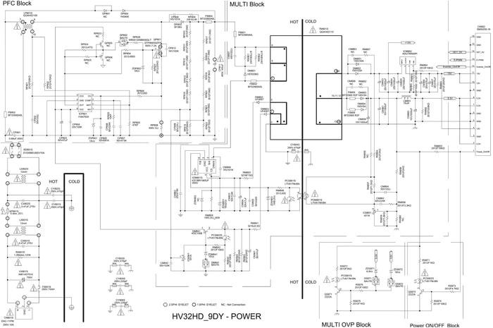tv service repair manuals schematics and diagrams samsung lcd tv circuit schematic