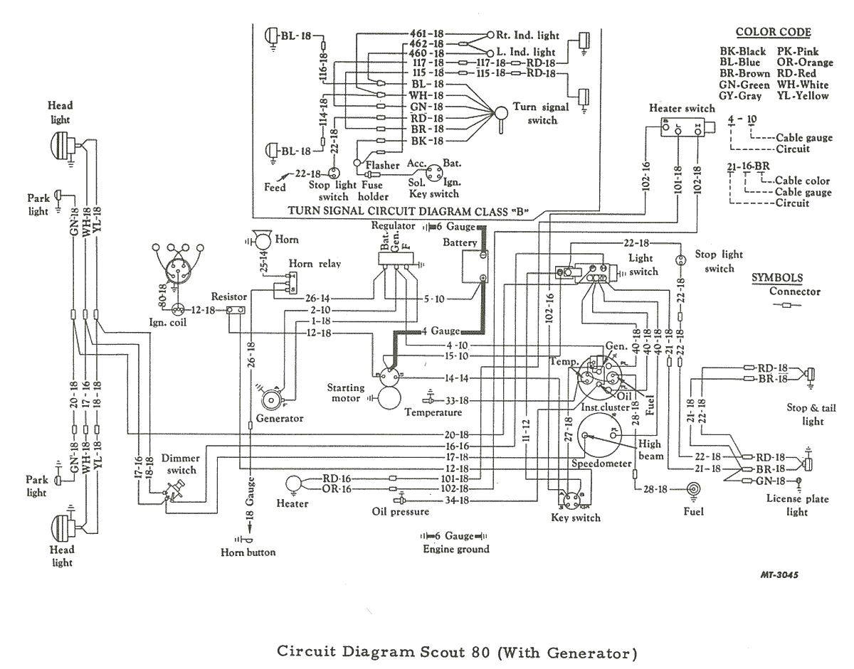 1962 ih scout 80 wiring diagram